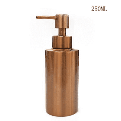 Golden Refillable Bottles oupseven 250