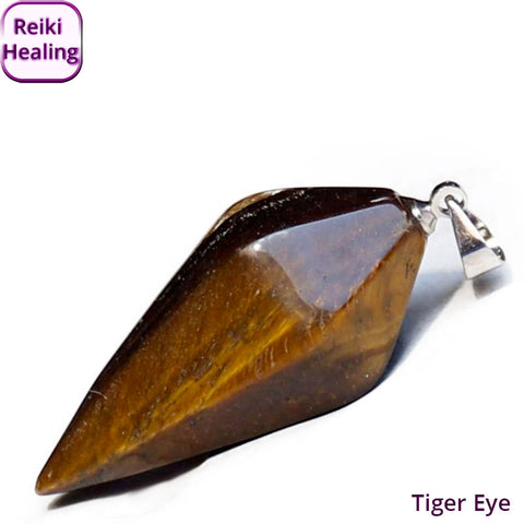 Tiger Eye Dowsing Pendolum
