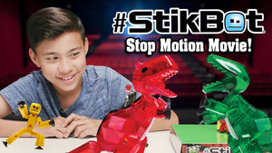 How to Create Your Own Dinosaur Stop Motion Films