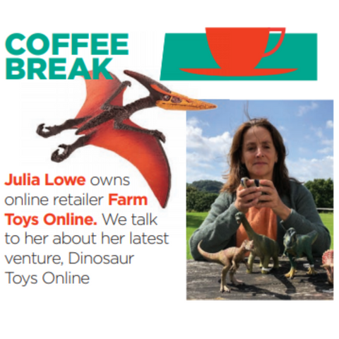 Dinosaur Toys Online in Toys n Playthings September 2019 Issue