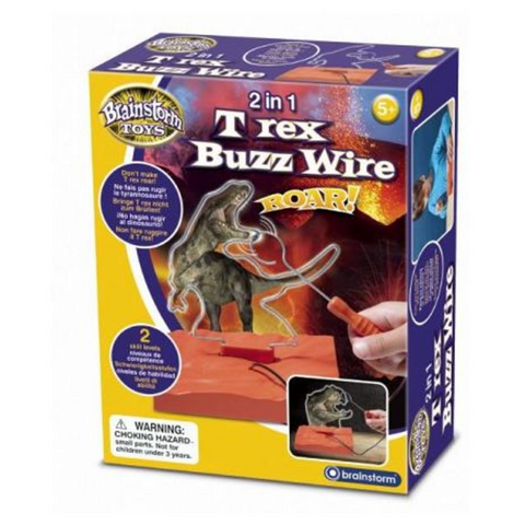 2 in 1 T-Rex Buzz Wire Brainstorm E2049