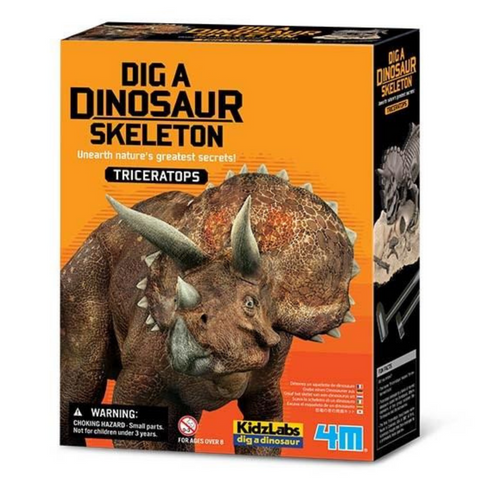 Triceratops Skeleton Excavation Kit 4M