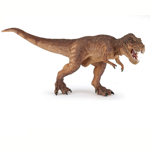 Papo Brown Running T-Rex 55075