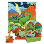 Crocodile Creek Land of Dinosaurs Shaped 24 Piece Puzzle