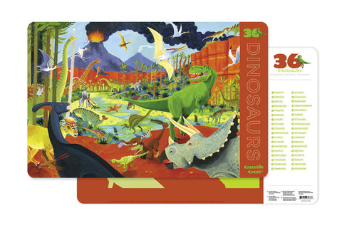 Crocodile Creek Dinosaurs Placemat