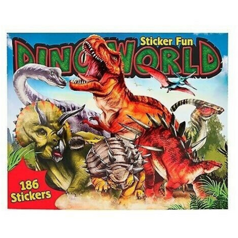 Dino World Colouring In Book Depesche