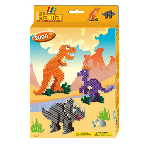 Hama Beads Dinosaur Kingdom Activity Box