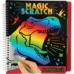 Dino World Magic Scratch Book