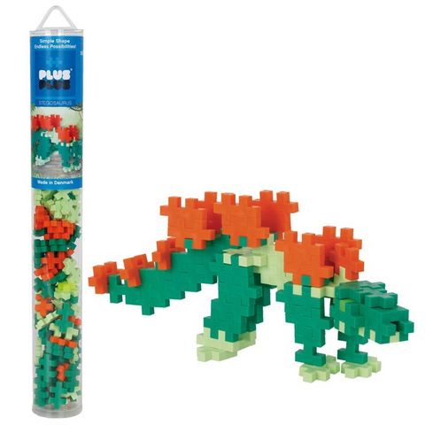 Plus-Plus Stegasaurus Tube