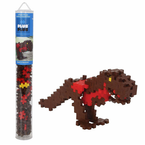 T-Rex Tube 100 pieces Plus-Plus 4092