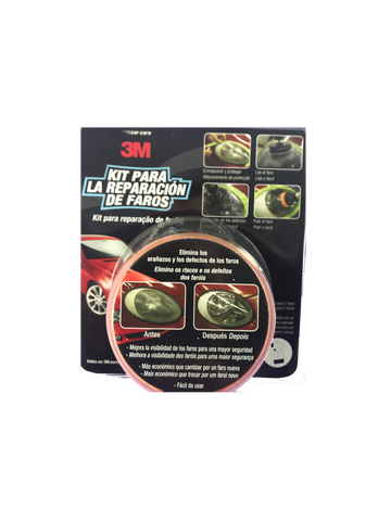 Kit restaurador faros 3m