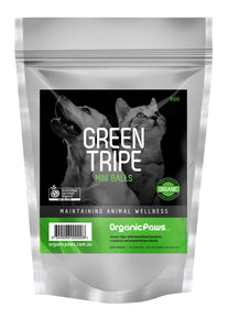 Green Tripe Mini Balls 500gm