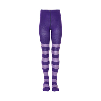 Purple stripy Tights