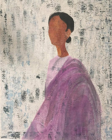Figure II by Koyal Raheja Art Print