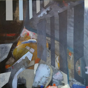 Martin D Hyde's Ark painting selected by the Royal Birmingham Society of Artists (RBSA)