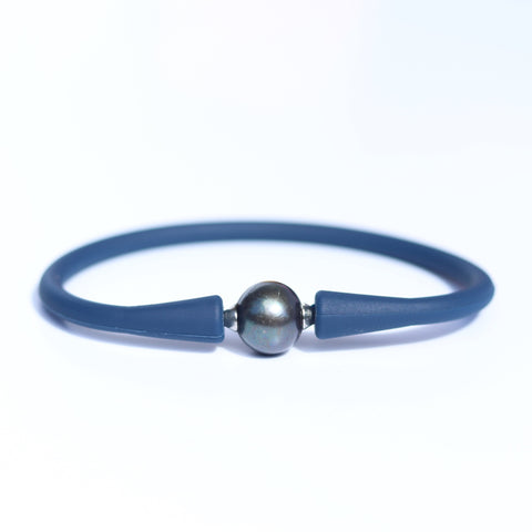 Silicone Tahitian Pearl Bracelet