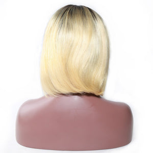(12A )India Super Premium Luxurious Ombre' BoB Wigs