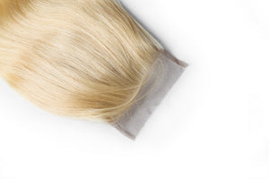 Super Premium 613 Russian Blonde Closures Luxurious Hair Collection