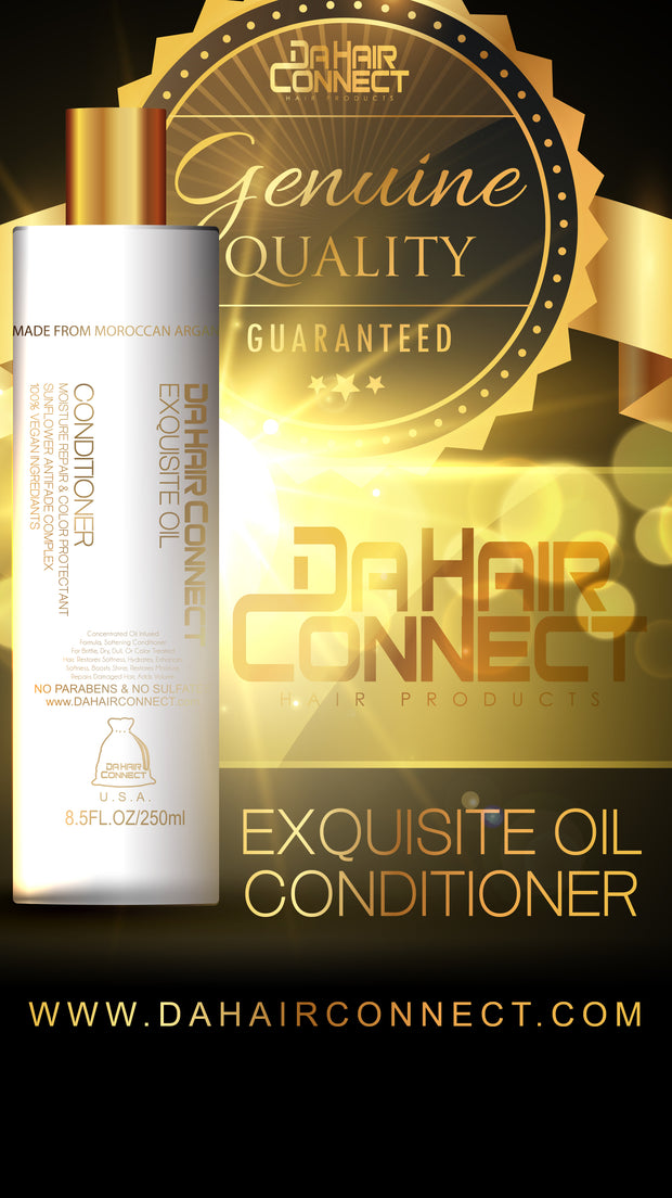 DaHairConnect Exquisite Oil 100% Vegan Conditioner 8.5oz
