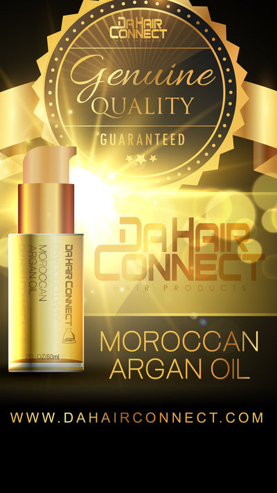 DaHairConnect 100% Vegan Moroccan Hair Serum 2oz