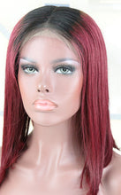 Load image into Gallery viewer, (12A )India Super Premium Luxurious Ombre' BoB Wigs