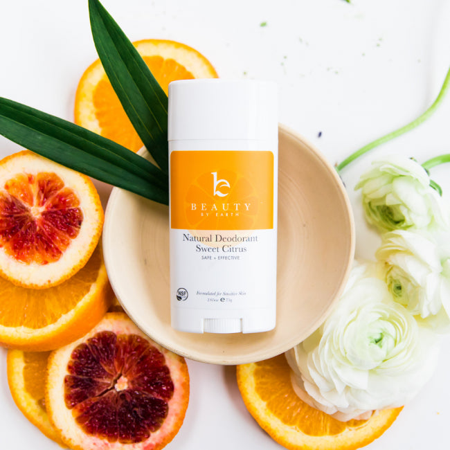 Beauty by Earth Deodorantti - Sweet Citrus