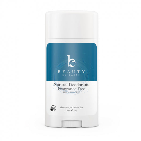 Beauty by Earth Fragrance-Free Deodorant
