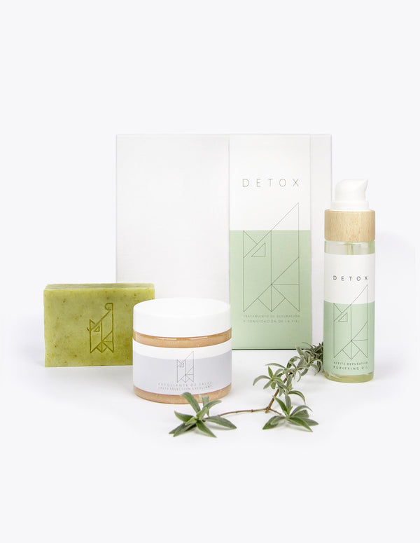 Per Pur Detox Pack-Purifying treatment Set