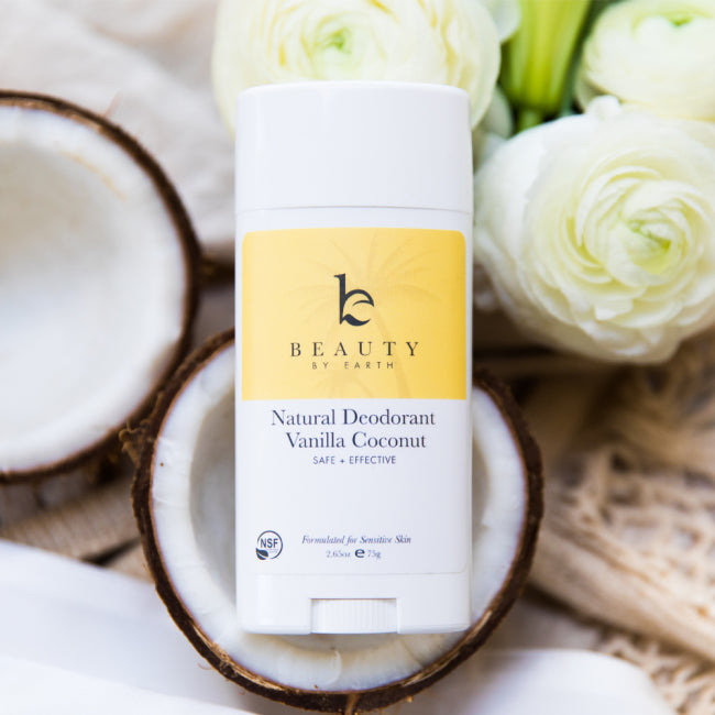 Beauty by Earth Deodorantti - Vanilla Coconut