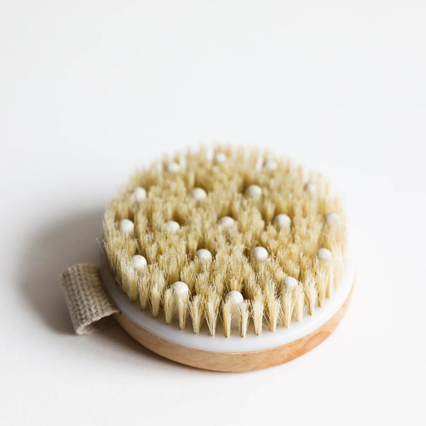 Beauty By Earth Dry Brush With Cellulite Massager