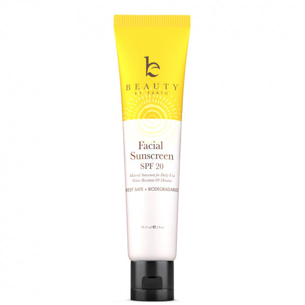 Beauty By Earth Mineral Facial Sunscreen - Aurinkosuoja kasvoille