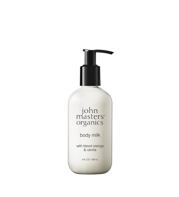 John Masters Organics Blood Orange & Vanilla Body Milk, Vartalovoide