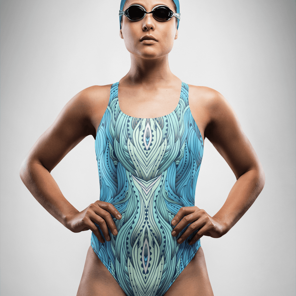 Blue Waves | One-Piece Swimsuit