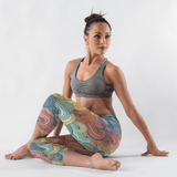 Wave | Yoga Capri Leggings
