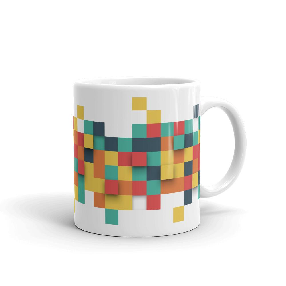 The Squares | Mug - WearEasy