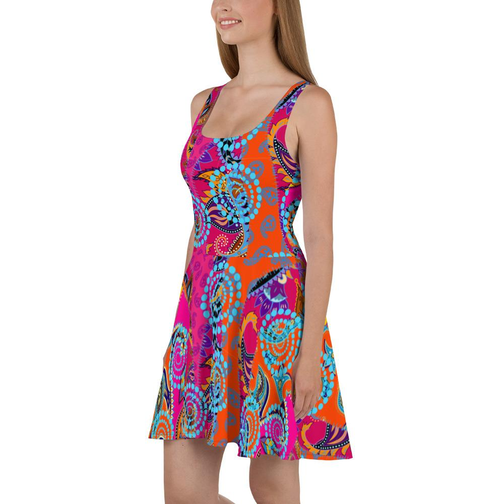 Tribal | Skater Dress - WearEasy