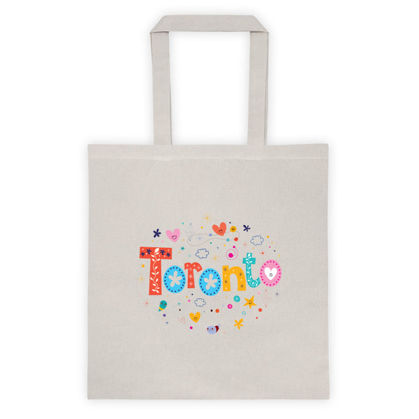 Colorful Toronto | Cotton Canvas Tote