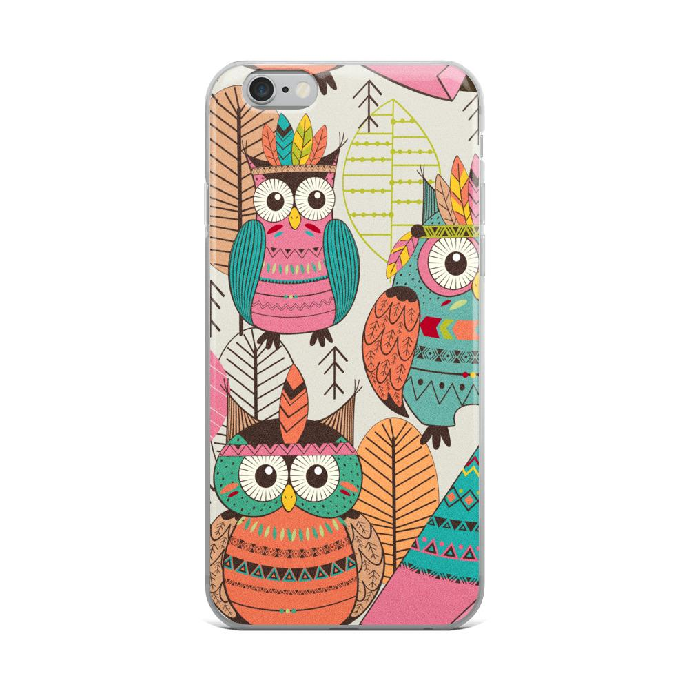 Tribal Owls | iPhone Case - WearEasy