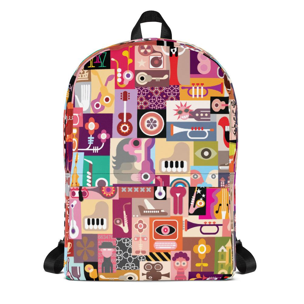 Collage | Backpack - WearEasy