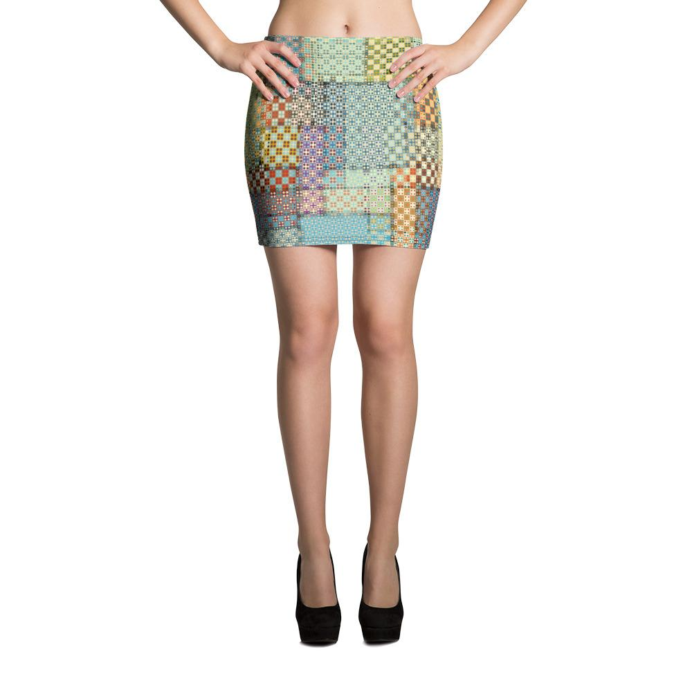 Tribal | Mini Skirt - WearEasy