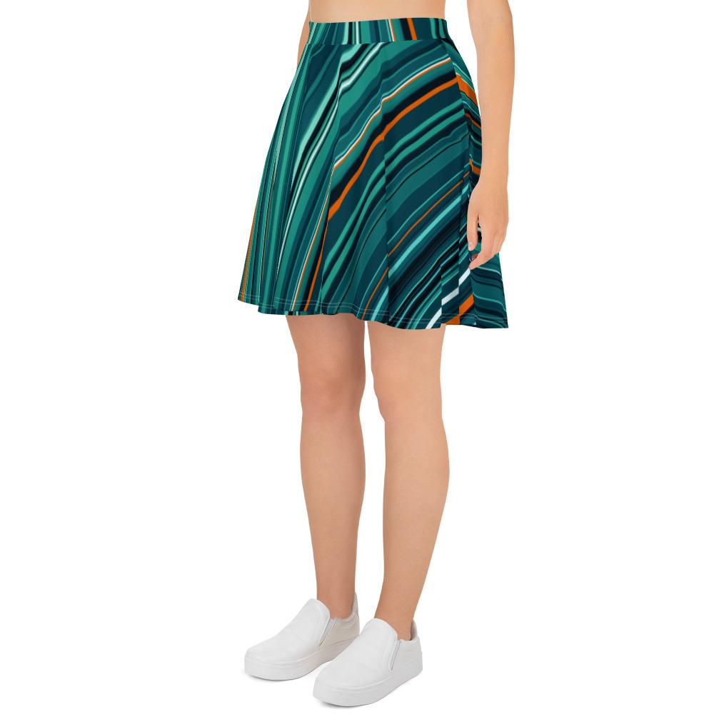 Lines | Skater Skirt - WearEasy