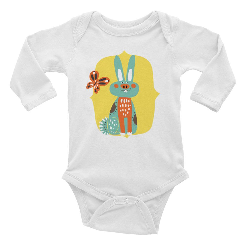 Forest Animal | Infant Long Sleeve Bodysuit - WearEasy