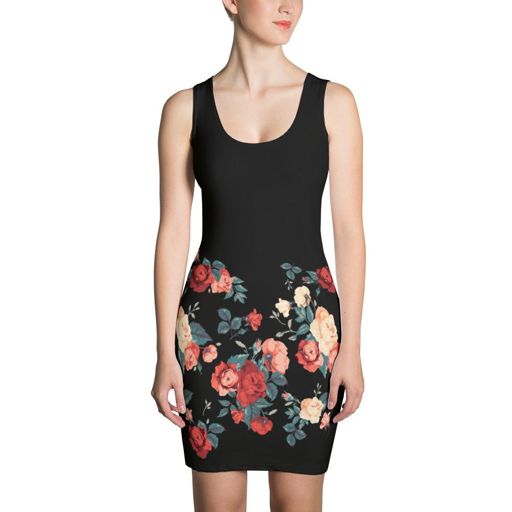 Red Roses | Dress - WearEasy