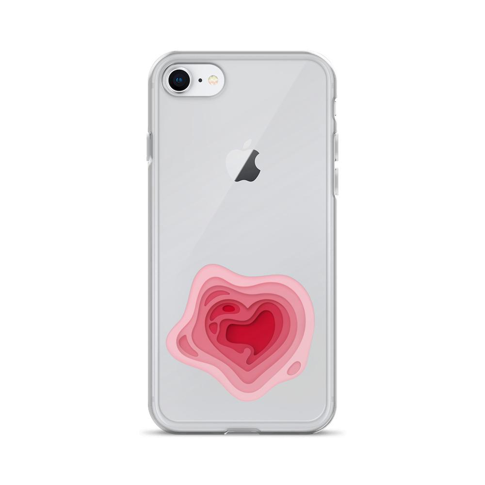 Pink Heart | iPhone Case - WearEasy