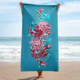 Red Fish | Beach Towel