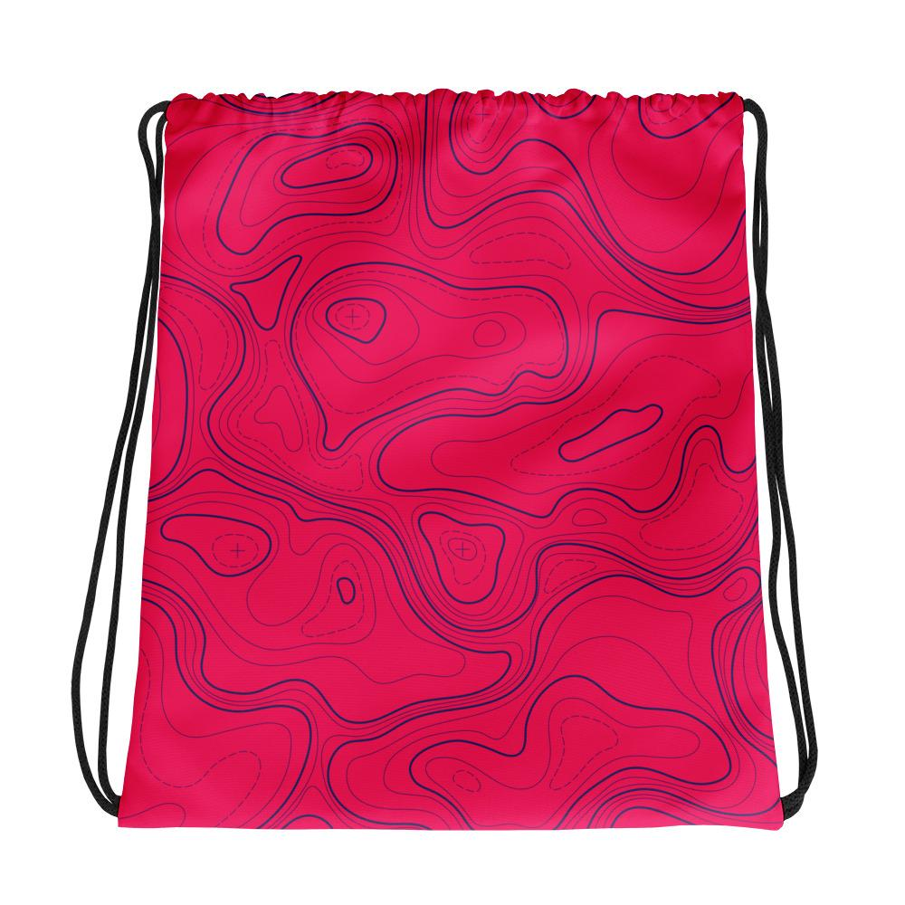 Map | Drawstring bag
