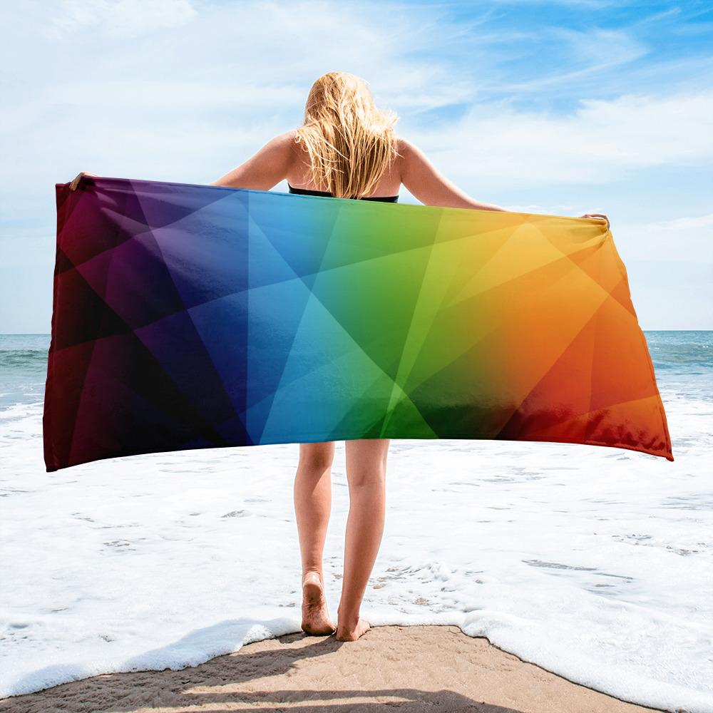 Over the Rainbow | Beach Towel - WearEasy