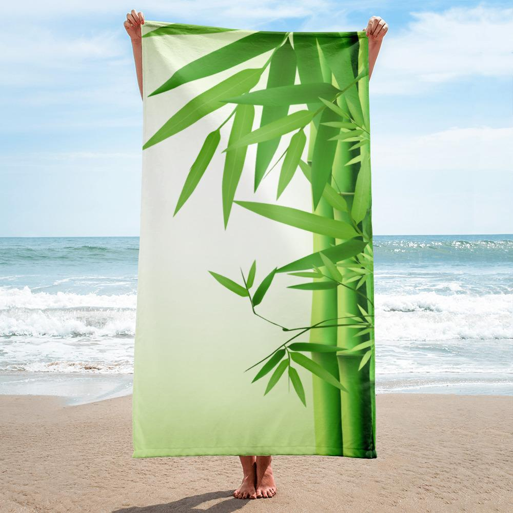 Big Bamboo | Beach Towel - WearEasy