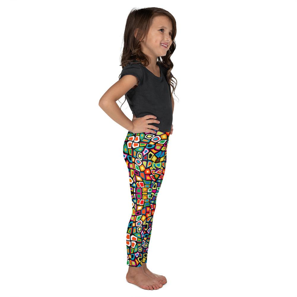 Mosaic | Kid's Leggings - WearEasy