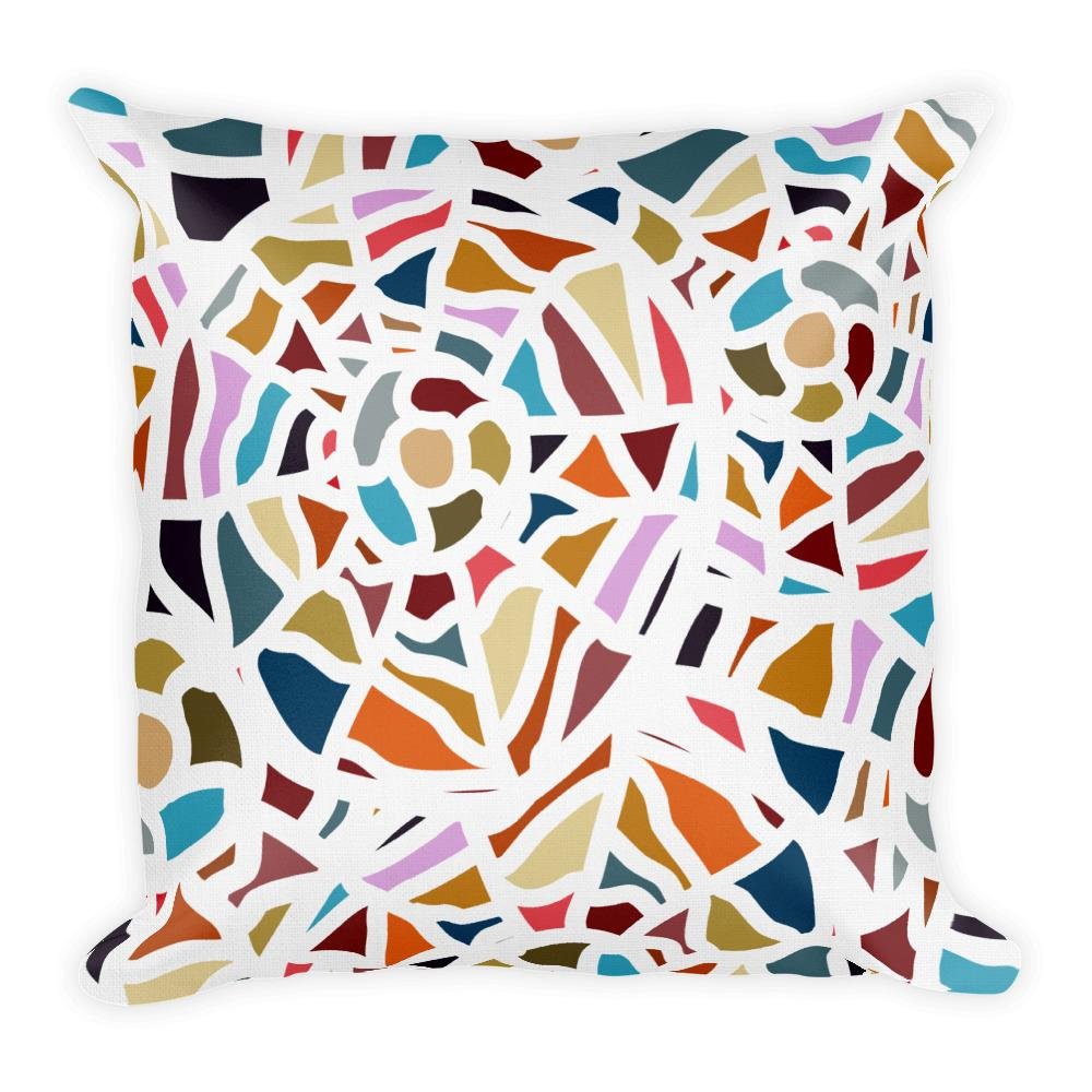 Mosaic of Color | Premium Pillow - WearEasy